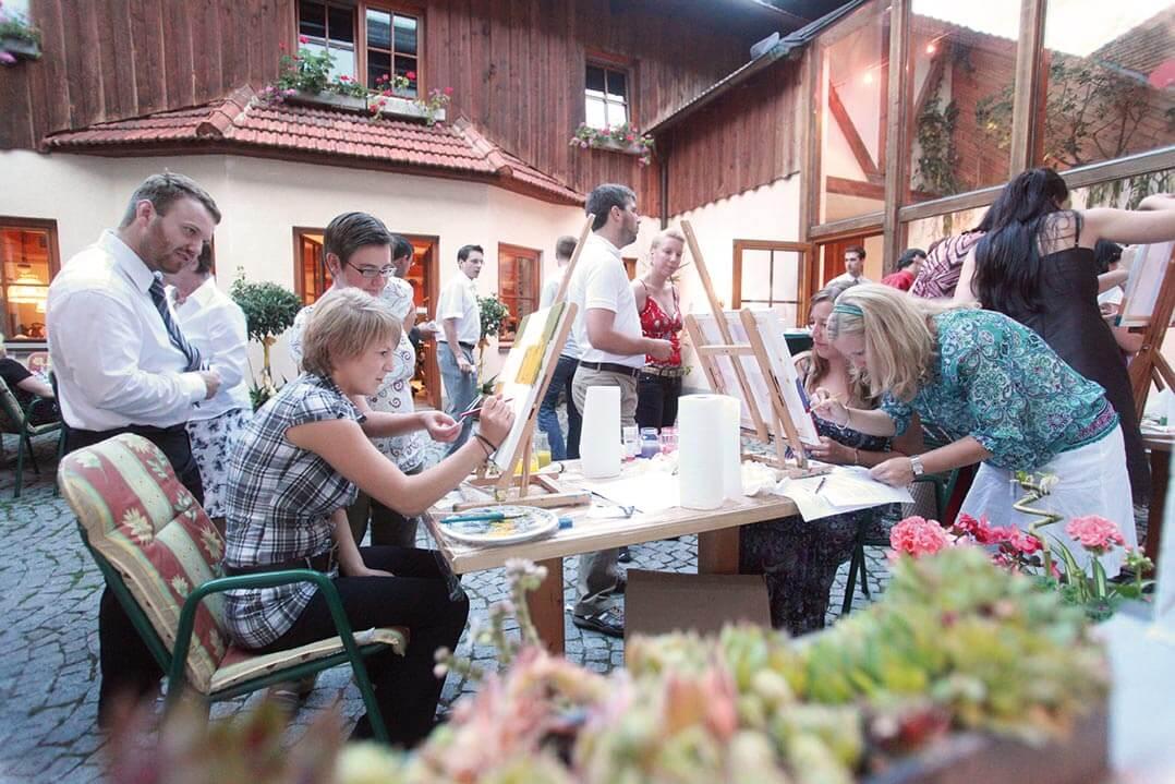 -familienfeierlichkeit-Festsaal-hochzeit-gasthof-reiterhof pichler geboltskirchen
