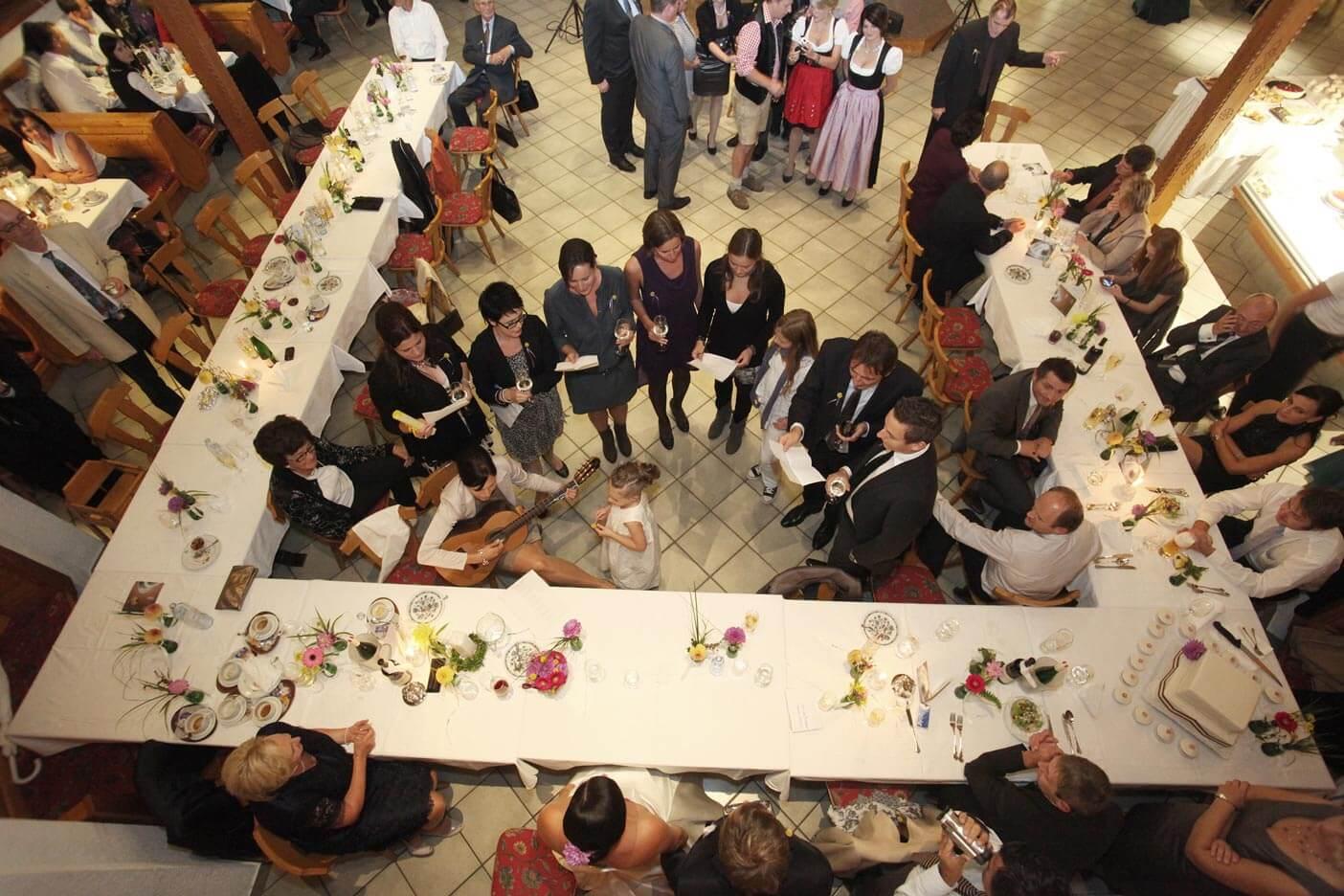 Festsaal-hochzeit-gasthof-reiterhof pichler geboltskirchen-familienfeierlichkeit