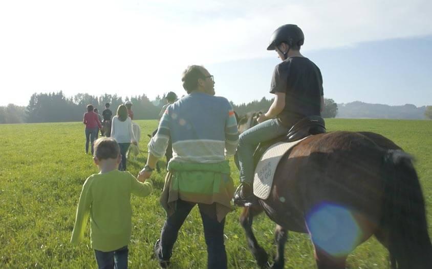 Ponyausflüge vom Familienhotel Pichler in Geboltskirchen
