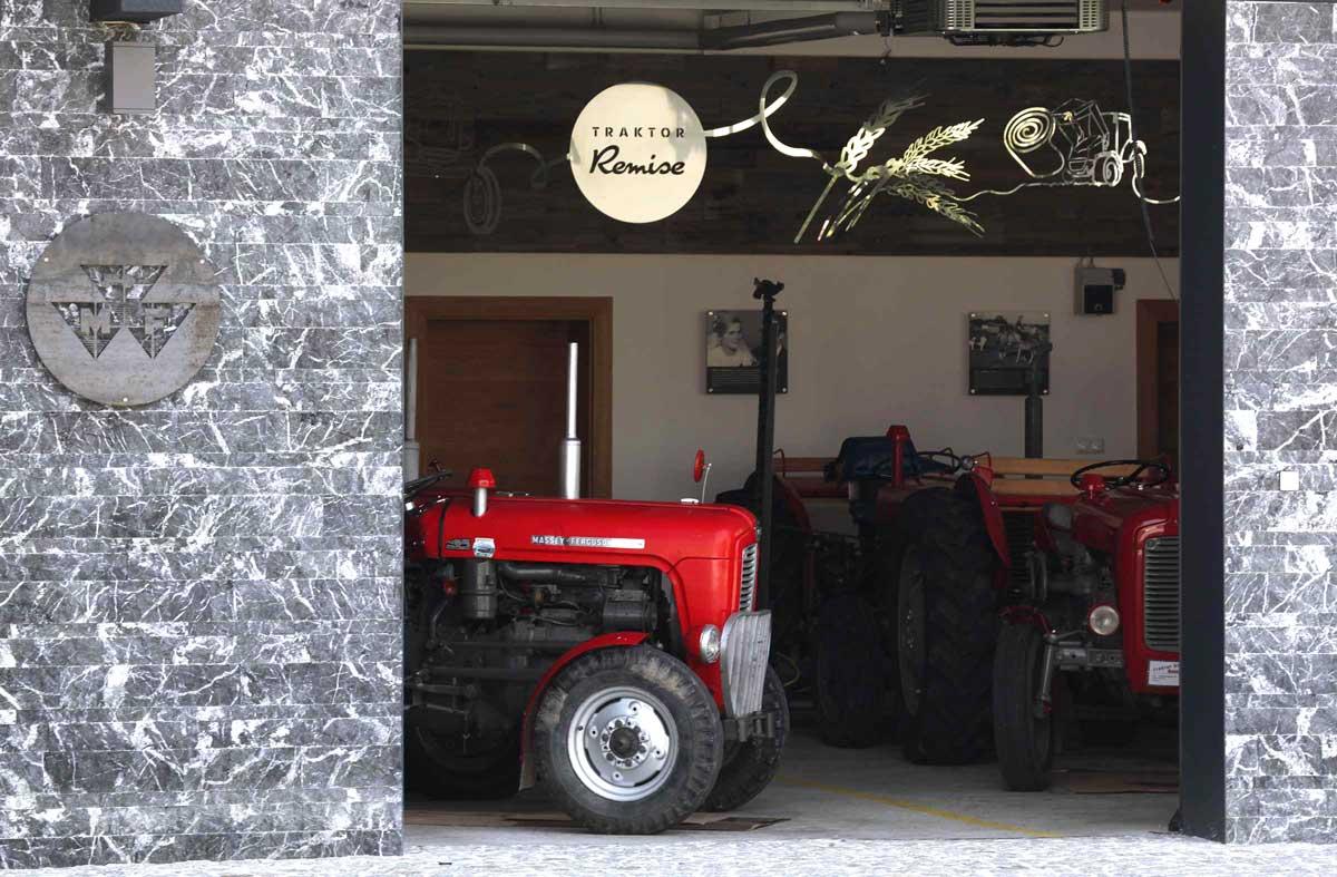 Traktorausflüge Oldtimer mit Traktorremise in Geboltskirchen