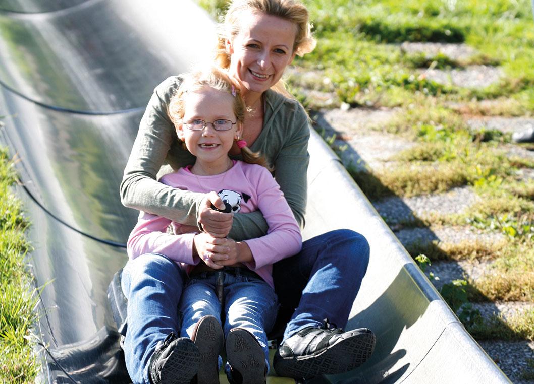 sommerrodeln haag familienurlaub bei Pichler